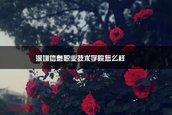 深圳信息职业技术学院怎么样
