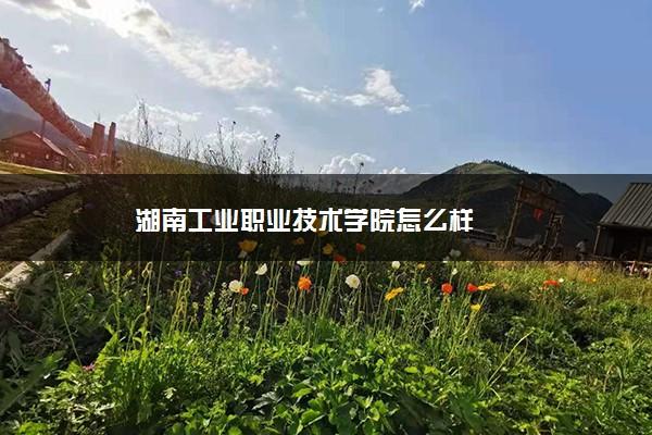 湖南工业职业技术学院怎么样