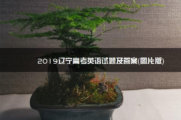 2019辽宁高考英语试题及答案(图片版)