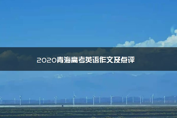2020青海高考英语作文及点评