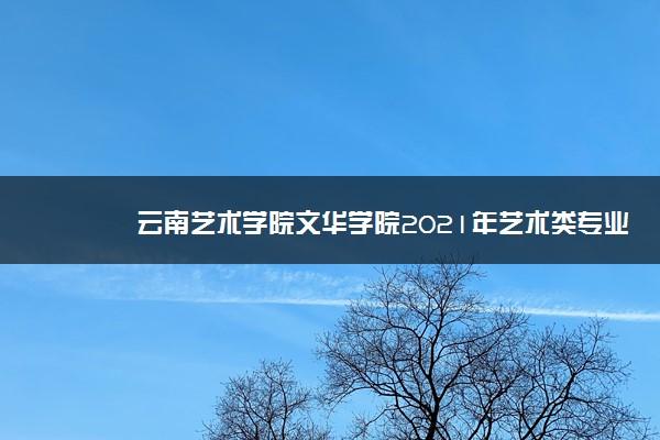 云南艺术学院文华学院2021年艺术类专业校考成绩查询入口