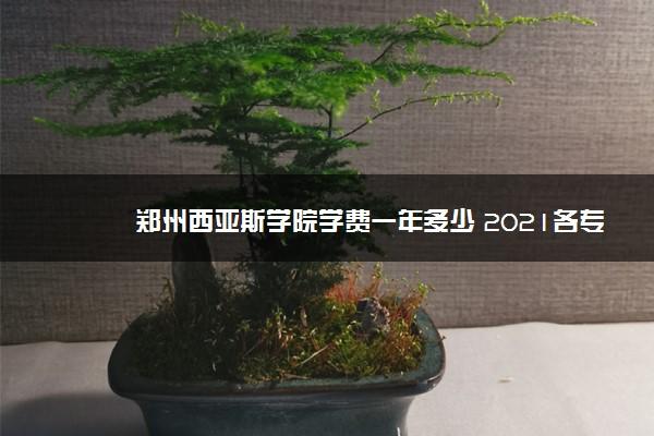 郑州西亚斯学院学费一年多少 2021各专业学费标准