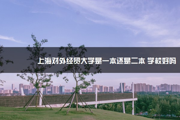 上海对外经贸大学是一本还是二本 学校好吗