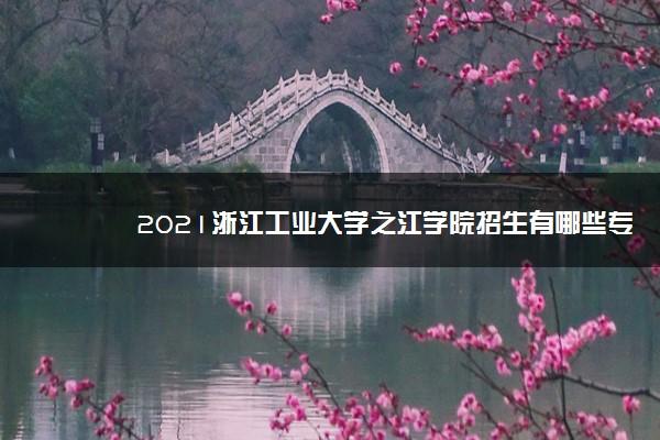 2021浙江工业大学之江学院招生有哪些专业 什么专业就业好