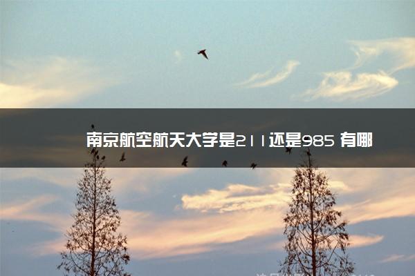 南京航空航天大学是211还是985 有哪些专业